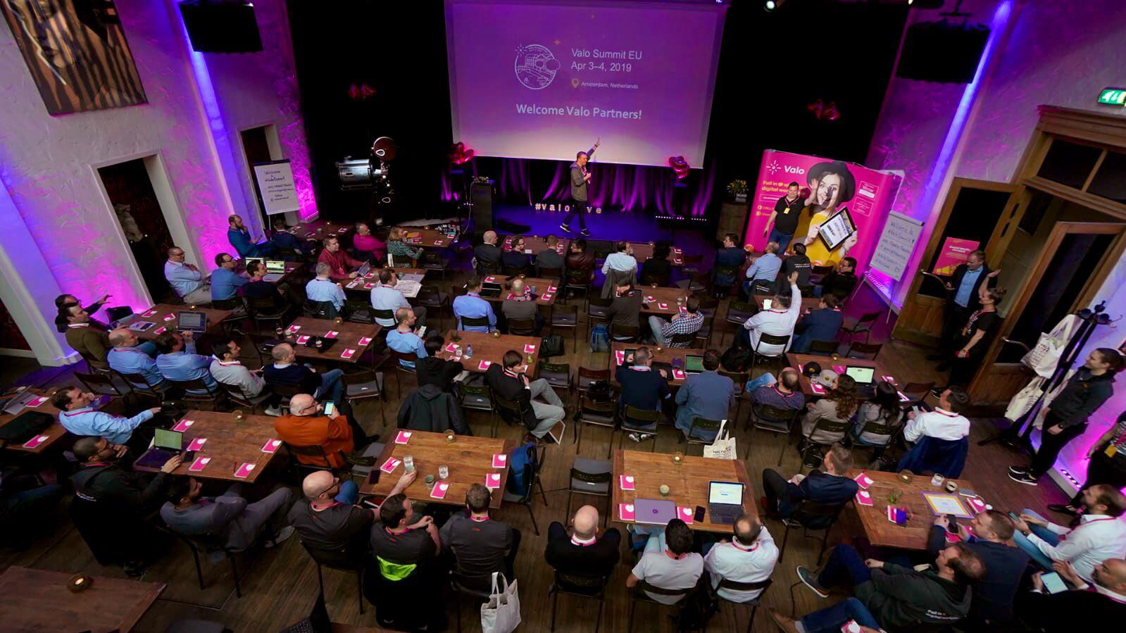 Valo Digital Workplace Summit Amsterdam 2019