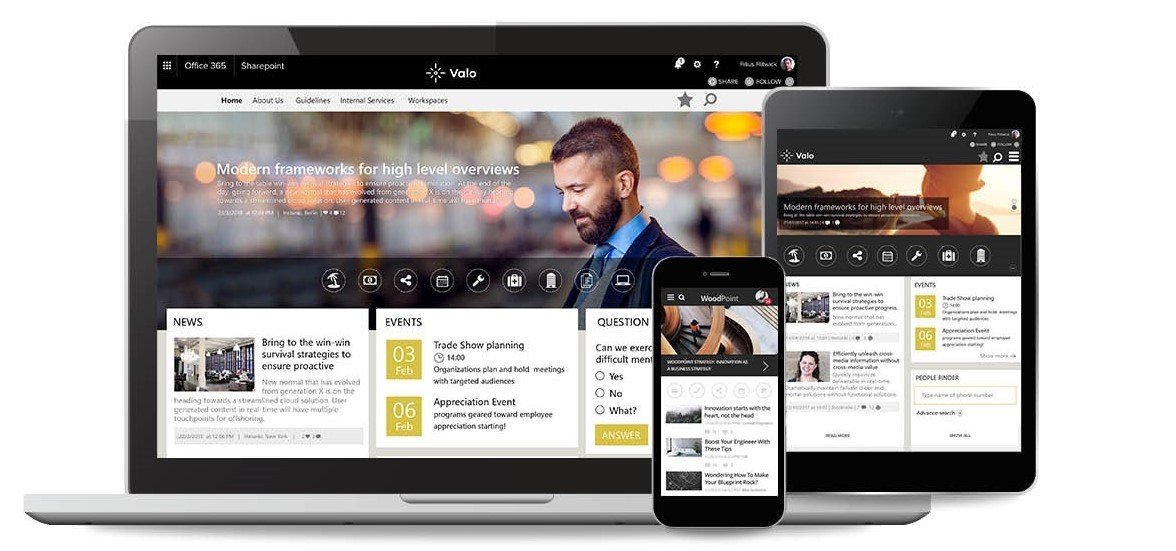 Valo Digital Workplace - Beetroot - Intranet Lösung